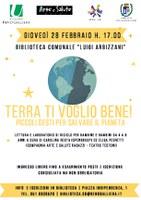 28/02/2019 San Giorgio di Piano - Terra ti voglio bene! M'illumino di meno 2019