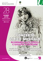 28/12/2019 Pieve di Cento - Ricordando Alice Zeppilli e Giuseppe Alberghini