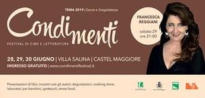 28-30/06/2019 Castel Maggiore - CondiMenti. Festival di cibo e letteratura