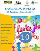 31/08/2019 Bentivoglio - San Marino in festa. Decima edizione