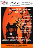 31/10/2019 Bentivoglio - Halloween 2019 a San Marino. Pizzata in compagnia trucchi per tutti