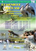 7-28/04 e 5-19/05/2019 Bentivoglio - Domeniche all'oasi. Aperture domenicali dell'Oasi La Rizza