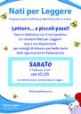 01/02/2020 Bentivoglio - Letture... a piccoli passi! Un incontro di Nati per leggere