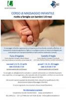 01/04-28/05/2020 Castello d'Argile e Funo di Argelato - Corso di massaggio infantile. Incontri della rassegna Genitori-in-con-tatto