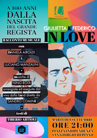 """01/09/2020 Galliera - """"Giulietta e Federico in love"""". Un racconto teatral-musicale di Reno Road Jazz"""