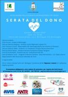 01/10/2020 Bentivoglio - La Serata del Dono, V edizione. In occasione della Giornata internazionale del Dono
