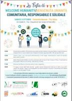 03/10/2020 San Giorgio di Piano - Welcome Humanity / Benvenuta Umanità, comunitaria, responsabile e solidale