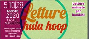 05-10-28/08/2020 Castel Maggiore - Letture Hula Hoop per bambini a cura di Elena Musti