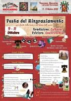 08-11/10/2020 Castello d'Argile - Festa del ringraziamento