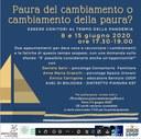 08-15/06/2020 Online - Essere genitori ai tempi della pandemia. Due incontri con due psicologi e un educatore dell'AUSL di Bologna, Distretto Pianura Est
