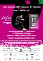"""11/10/2020 Bologna - Grande Concerto di Premiazione dei Vincitori della quinta edizione del Premio regionale """"Giuseppe Alberghini"""""""