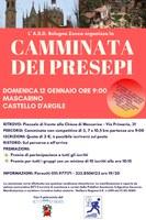 12/01/2020 Castello d'Argile - Camminata dei Presepi. Gara non competitiva nella campagna di Mascarino