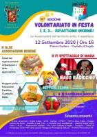 12/09/2020 Castello d'Argile - Volontariato in Festa - 11^ edizione: 1, 2, 3...ripartiamo insieme!
