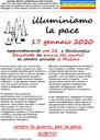 17/01/2020 Bentivoglio - Illuminiamo la pace. Fiaccolata