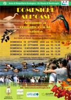 18-25/10 - 8-22-29/11/2020 Bentivoglio - Domeniche all'oasi. Visite guidate all'Ex Risaia di Bentivoglio - Oasi la Rizza