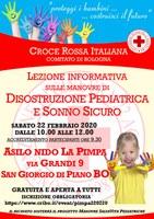 22/02 e 07/03/2020 San Giorgio di Piano e Funo di Argelato - Disostruzione pediatrica e primo soccorso infantile. Due incontri della rassegna Genitori-in-con-tatto