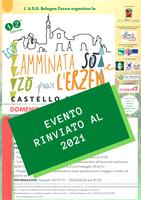 24/05/2020 Castello d'Argile - Camminata Sò e Zò par l'Erzen. 42° edizione - Evento rimandato al 2021