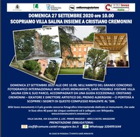 27/09/2020 Castel Maggiore - Scopriamo Villa Salina insieme a Cristiano Cremonini
