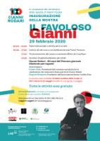 29/02/2020 Pieve di Cento - Il favoloso Gianni. Antologia murale in 21 pannelli. Inaugurazione della mostra