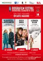 30/06/2020 - 01-02/07/2020 Castel Maggiore - Biografilm on the square. Il Biografilm festival torna a Castel Maggiore