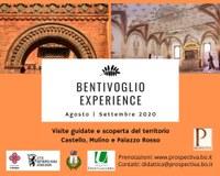 30/08 - 12 e 27/09/2020 Bentivoglio Experience. Gli appuntamenti di agosto e settembre