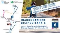 19/06/2021 Argelato - La Bicipolitana 6. Cerimonia di inaugurazione della rete di piste ciclopedonali dell'Unione Reno Galliera
