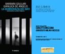 """25/03/2021 ONLINE - Presentazione di """"La democrazia dei dati"""" di Barbara Giullari e Gianluca De Angelis"""