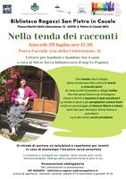 29/07/2021 San Pietro in Casale - Nella tenda dei racconti. Letture per bambini e bambine dai 4 anni