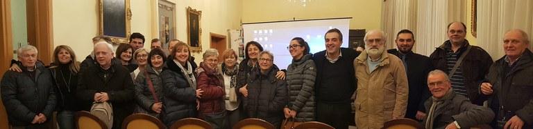 Foto di gruppo al termine dell'incontro