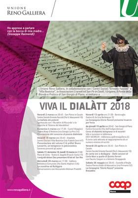 Manifesto Viva il dialàtt 2018