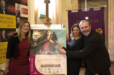 Conferenza stampa 4° Premio Alberghini - Teatro Comunale Bologna - 21.11.2018