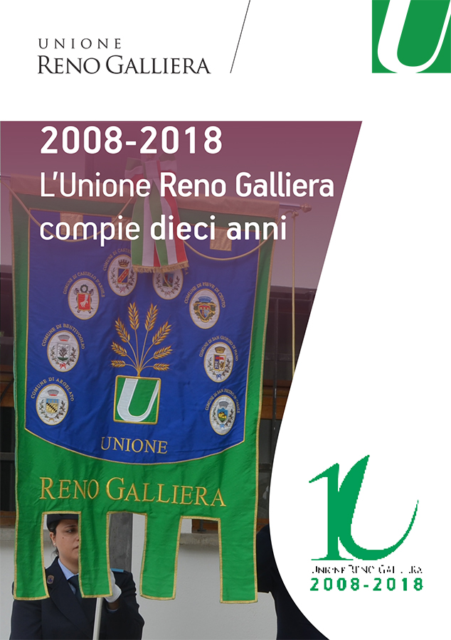 Decennale Unione Reno Galliera - Brochure