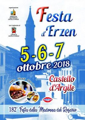 Festa d'Erzen a Castello d'Argile