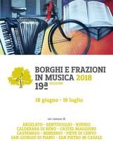 opuscolo Borghi e frazioni in musica 2018