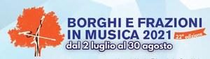 Borghi & Frazioni in Musica 2021