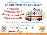 Raccolta fondi per acquisto di una ambulanza