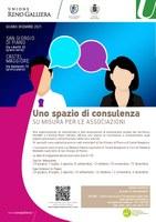Uno spazio di consulenza su misura per le associazioni: da giugno a dicembre 2021, date e orari degli sportelli di San Giorgio di Piano e Castel Maggiore