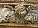 Chiesa SS.Trinità-fregio angioletti