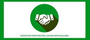 Nuova piattaforma per l'accesso all'Elenco dei fornitori dell'Unione Reno Galliera
