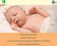 Massaggio infantile: due corsi gratuiti in partenza a Castello d'Argile e a Funo